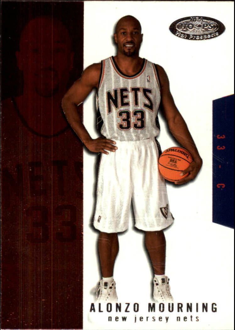 2003-04 Hoops Hot Prospects #14 Alonzo Mourning