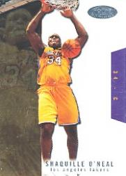 2003-04 Hoops Hot Prospects #53 Shaquille O'Neal