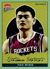 2003-04 Fleer Platinum Portraits #2 Yao Ming
