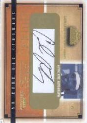 2003-04 Fleer Showcase Sweet Sigs #SGCA Carmelo Anthony/400