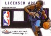2003-04 Fleer Patchworks Licensed Apparel Jersey Number #TM Tracy McGrady