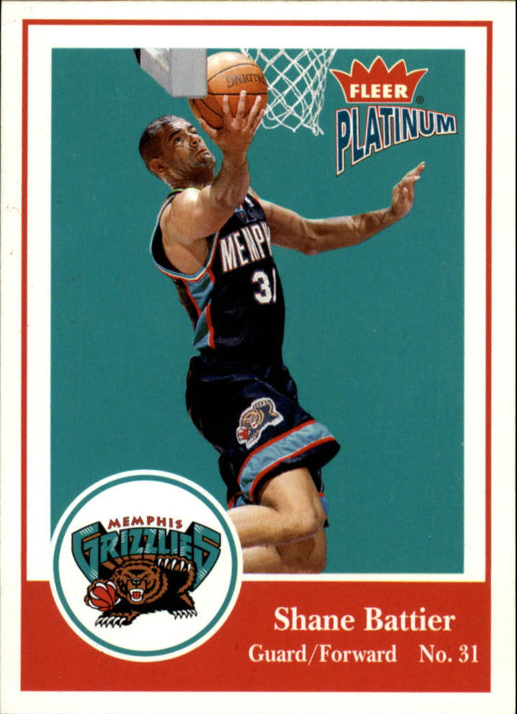 2003-04 Fleer Platinum #1 Shane Battier