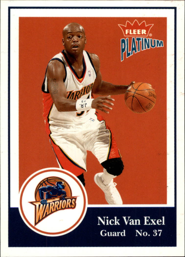 2003-04 Fleer Platinum #4 Nick Van Exel