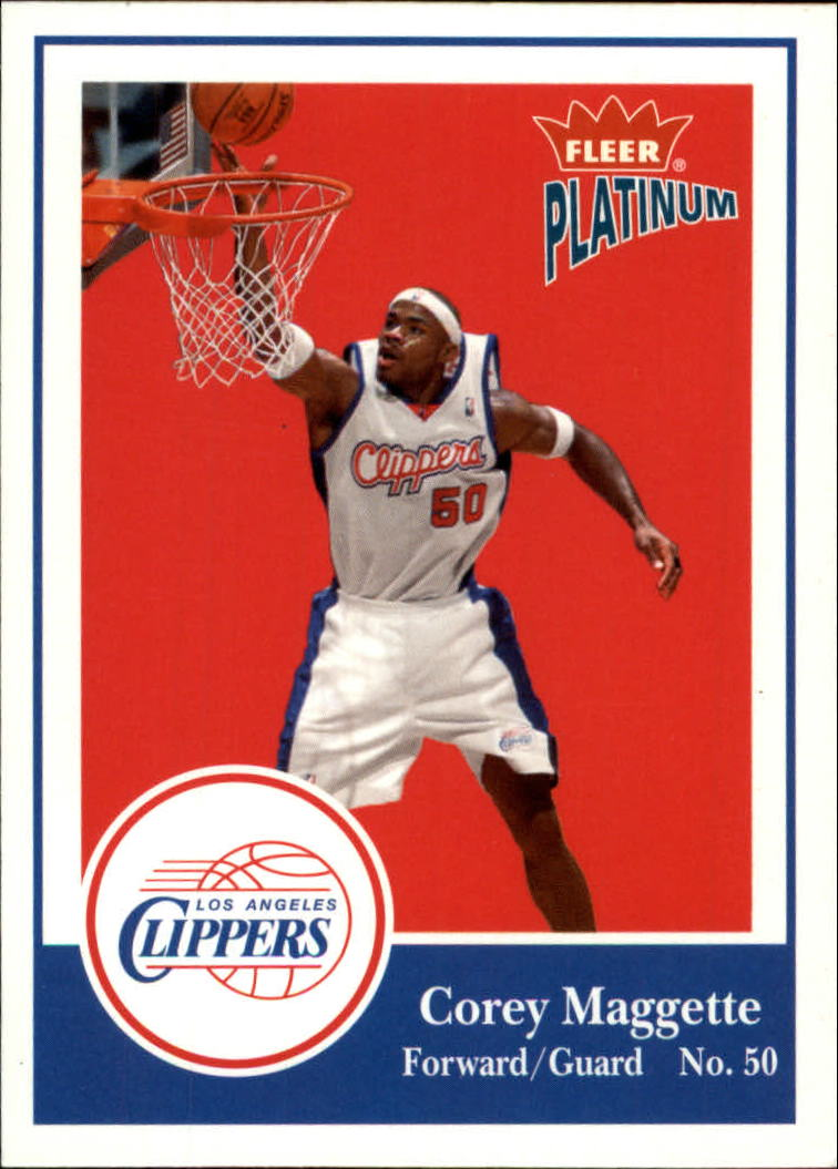 2003-04 Fleer Platinum #6 Corey Maggette