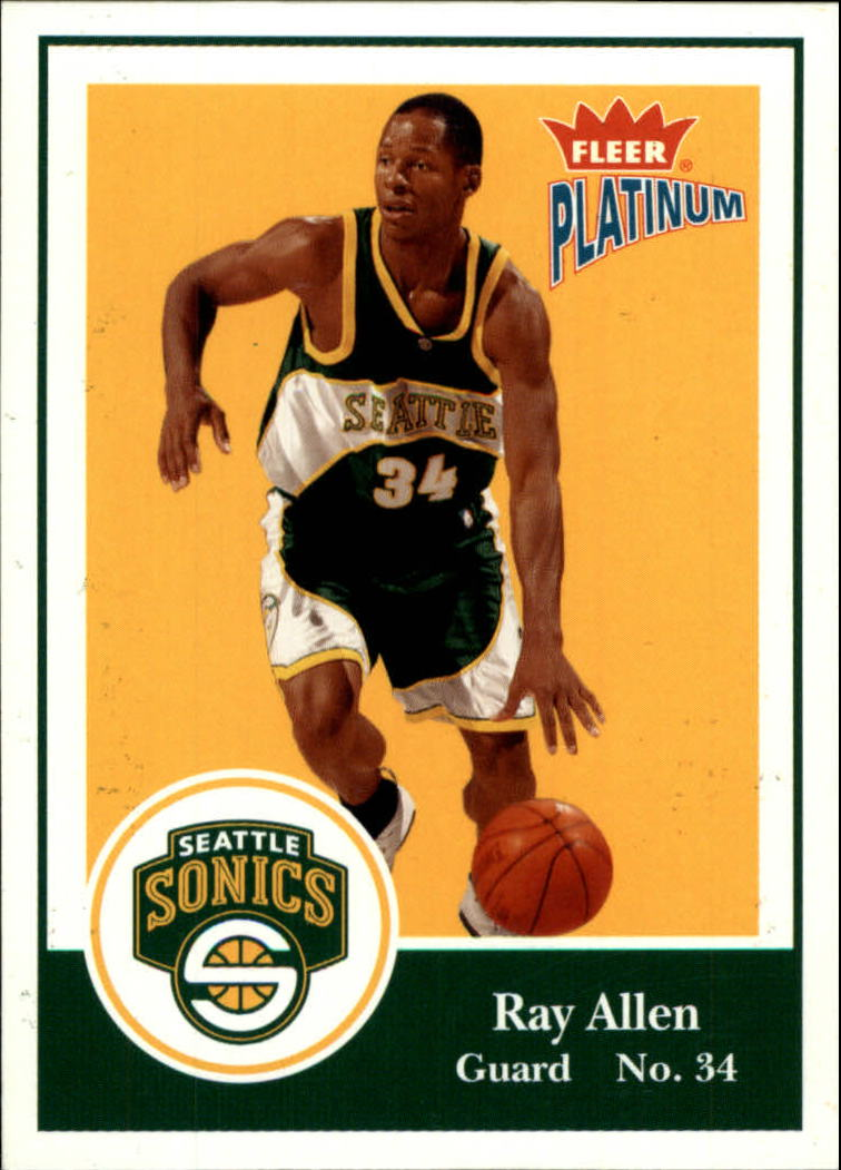 2003-04 Fleer Platinum #74 Ray Allen
