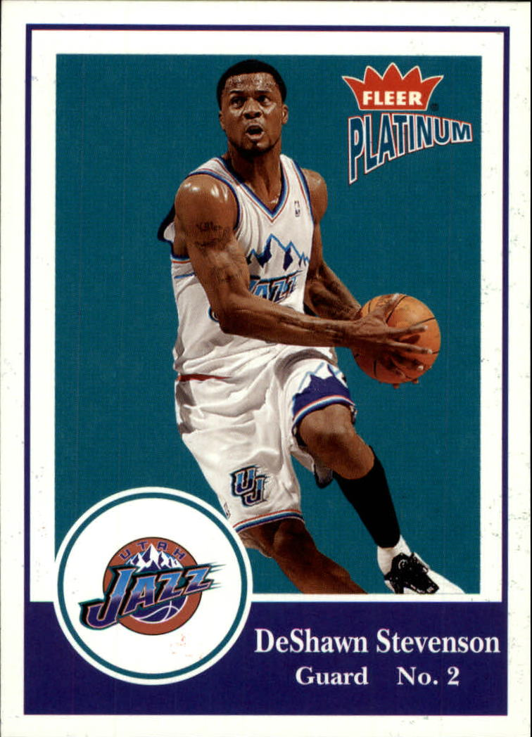 2003-04 Fleer Platinum #91 DeShawn Stevenson