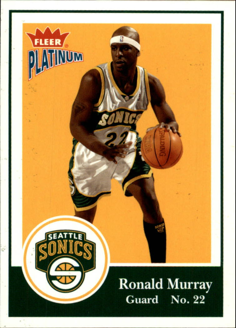 2003-04 Fleer Platinum #110 Ronald Murray