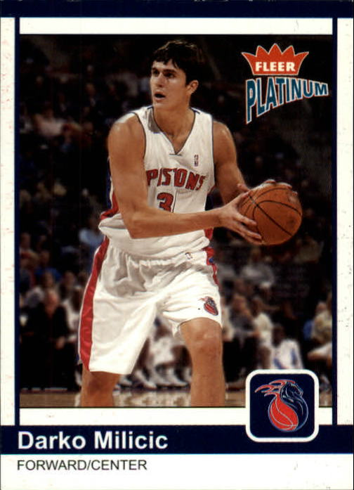 2003-04 Fleer Platinum #174 Darko Milicic RC