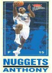 2003-04 Fleer Platinum Big Signs #12 Carmelo Anthony