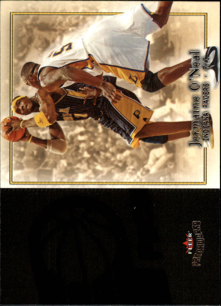 2003-04 Fleer Patchworks #30 Jermaine O'Neal