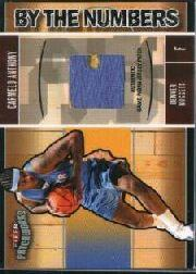 2003-04 Fleer Patchworks #91 Carmelo Anthony RC