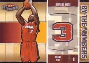 2003-04 Fleer Patchworks By The Numbers #5 Dwyane Wade