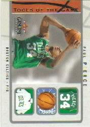 2003-04 Fleer Genuine Insider Tools of the Game #5 Paul Pierce
