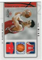 2003-04 Fleer Genuine Insider Tools of the Game #6 Yao Ming