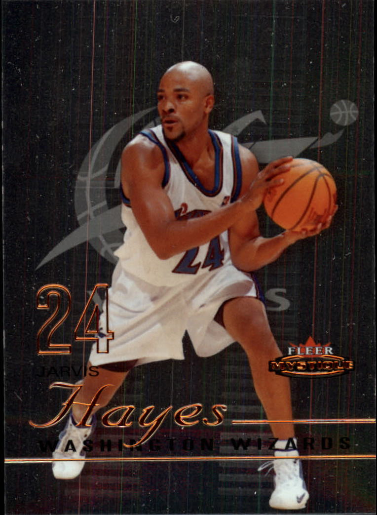 2003-04 Fleer Mystique #96 Jarvis Hayes RC