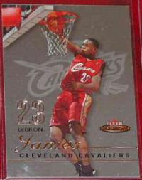 2003-04 Fleer Mystique #99 LeBron James RC