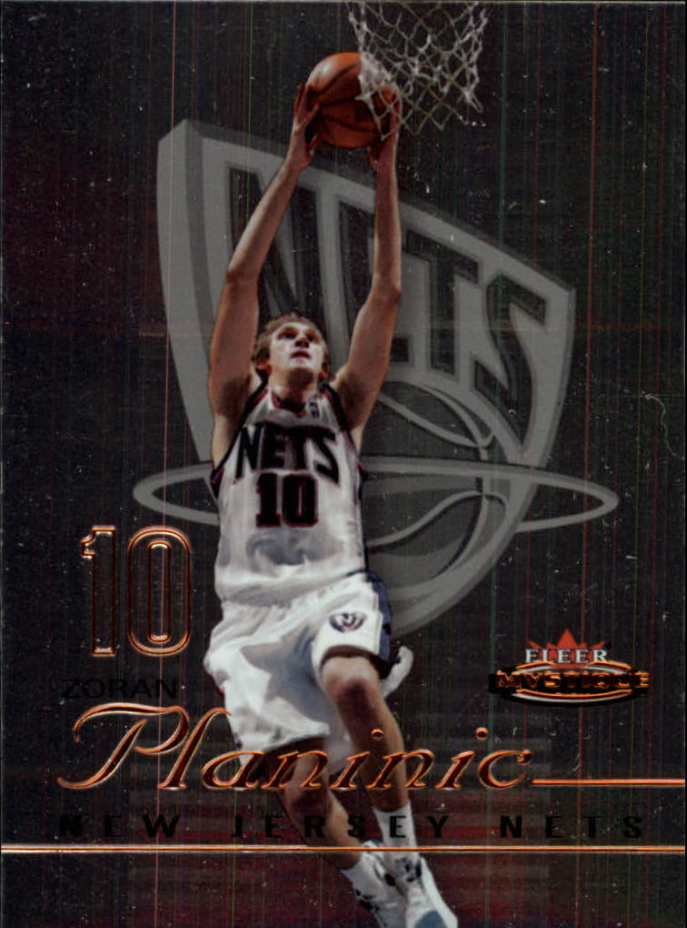 2003-04 Fleer Mystique #118 Zoran Planinic RC