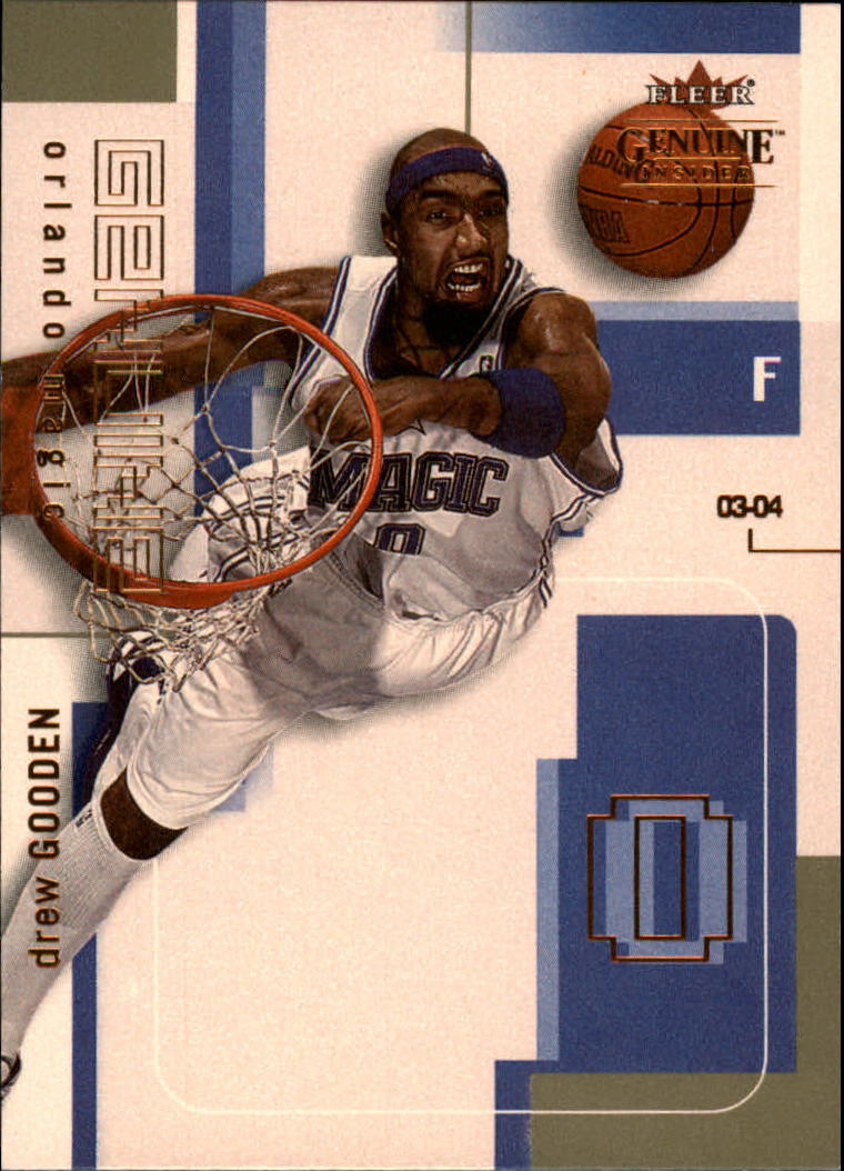 2003-04 Fleer Genuine Insider #24 Drew Gooden