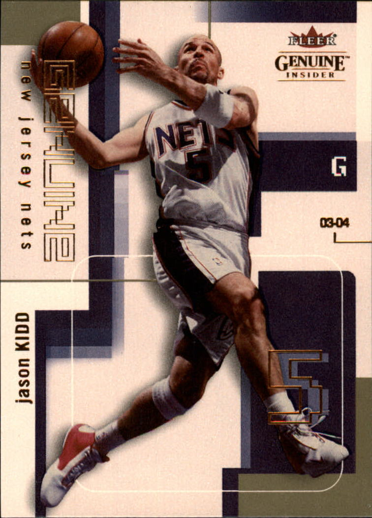2003-04 Fleer Genuine Insider #29 Jason Kidd