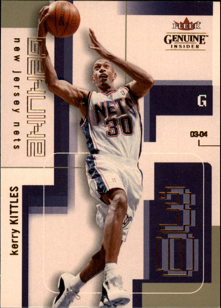 2003-04 Fleer Genuine Insider #35 Kerry Kittles