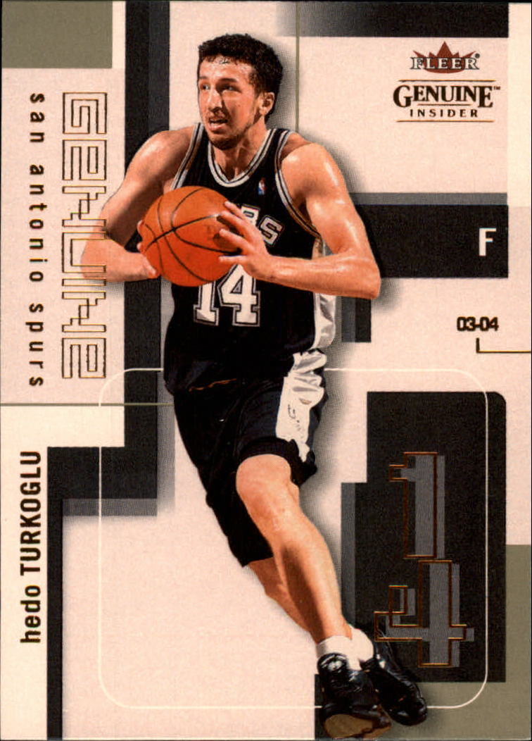2003-04 Fleer Genuine Insider #42 Hedo Turkoglu