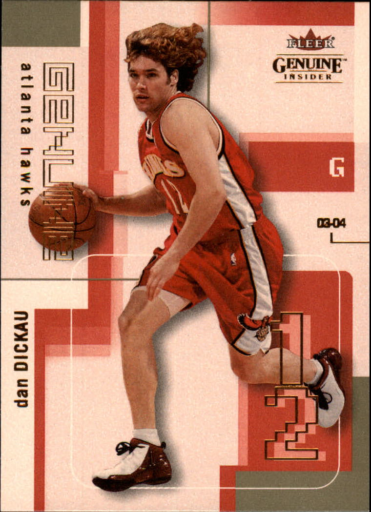 2003-04 Fleer Genuine Insider #57 Dan Dickau