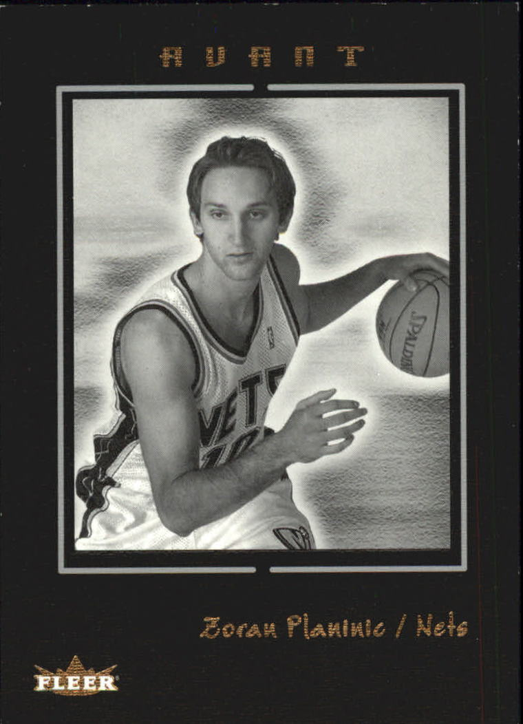 2003-04 Fleer Avant Black and White #86 Zoran Planinic