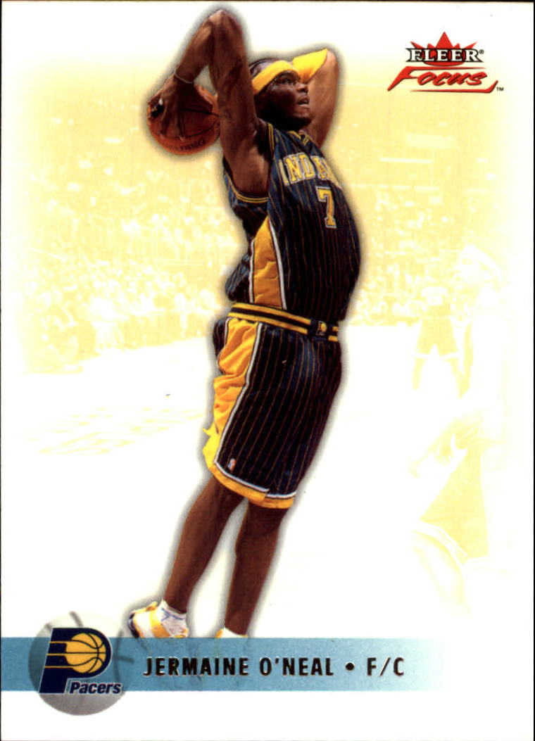 2003-04 Fleer Focus #88 Jermaine O'Neal