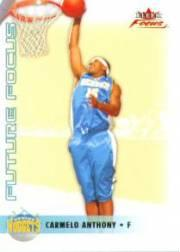 2003-04 Fleer Focus #121 Carmelo Anthony RC