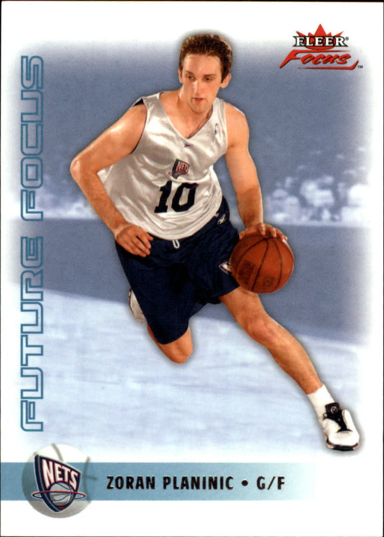 2003-04 Fleer Focus #151 Zoran Planinic RC