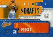 2003-04 Fleer Authentix Draft Day Ticket #1 Carmelo Anthony