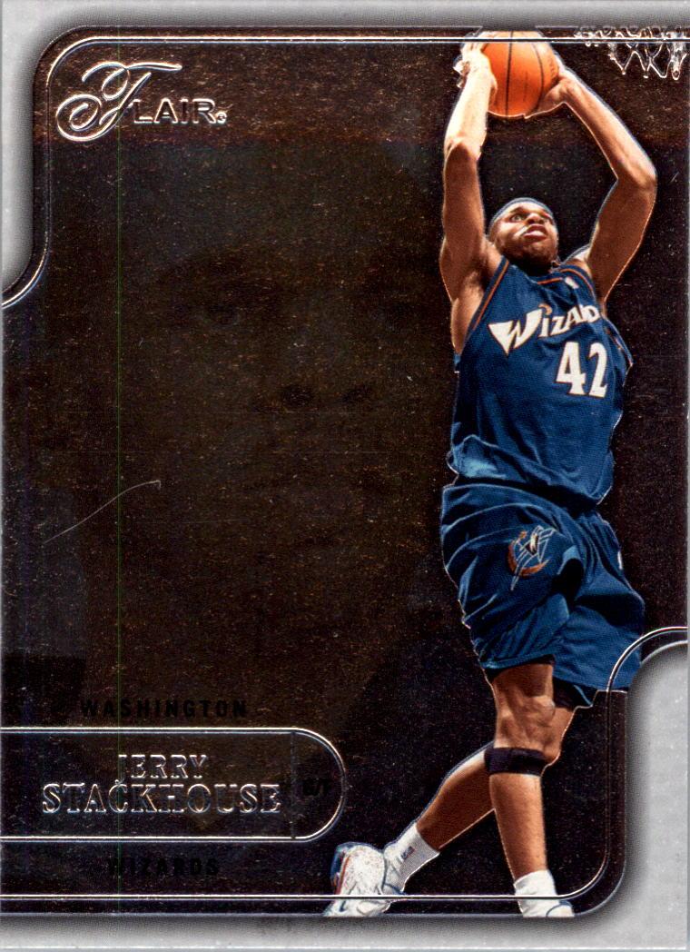 2003-04 Flair #1 Jerry Stackhouse