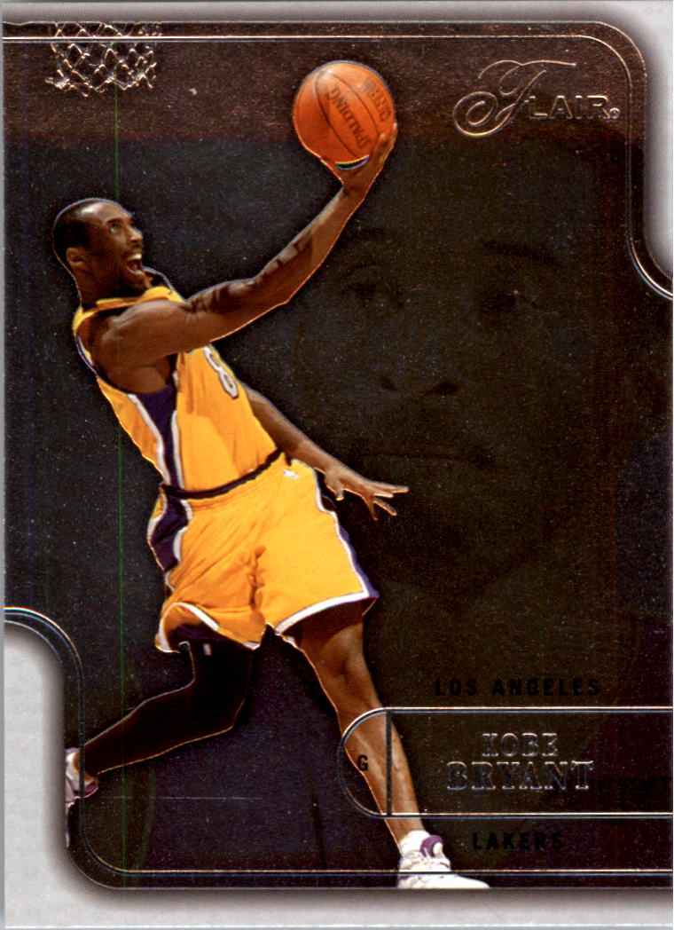 2003-04 Flair #4 Kobe Bryant