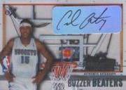 2003-04 E-X Buzzer Beaters Autographs #7 Carmelo Anthony/299 front image