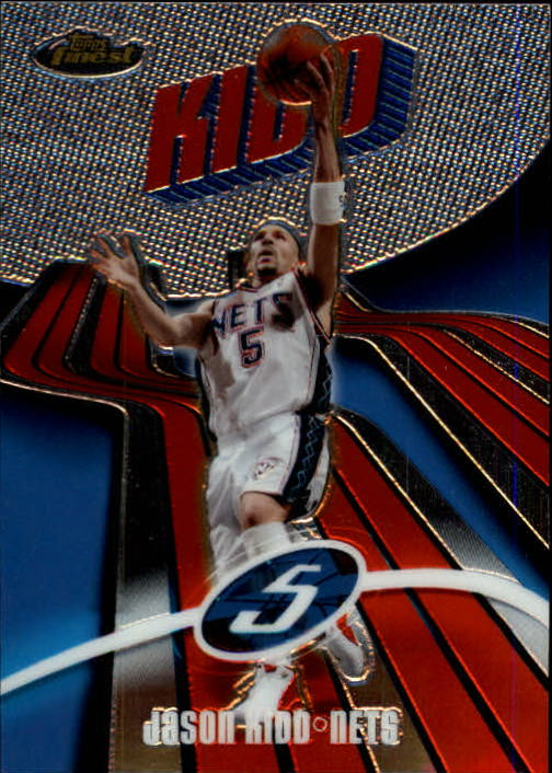 2003-04 Finest #5 Jason Kidd