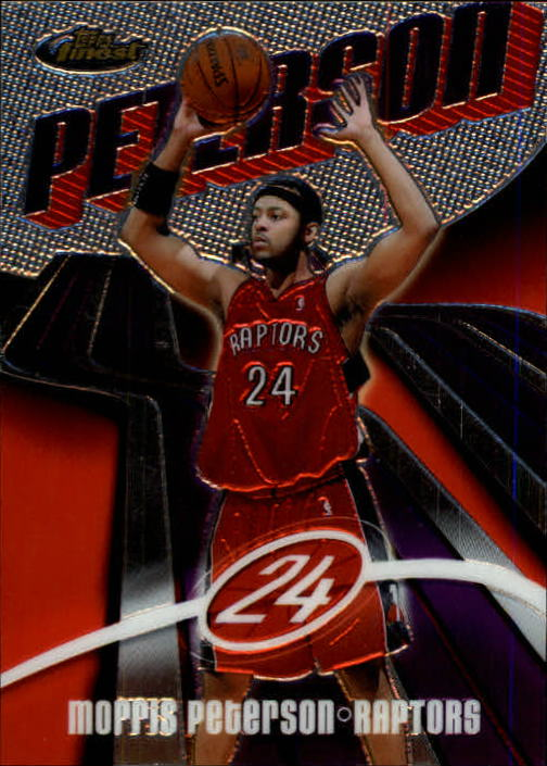 2003-04 Finest #81 Morris Peterson