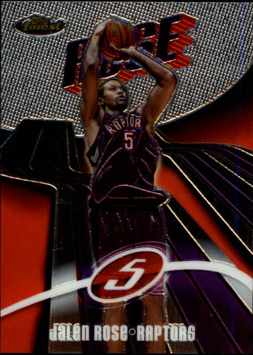 2003-04 Finest #86 Jalen Rose