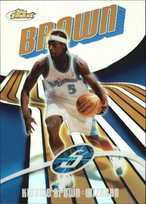 2003-04 Finest Refractors #37 Kwame Brown