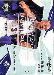 2003-04 Black Diamond Jerseys Double Diamond #BD2SM Stephon Marbury