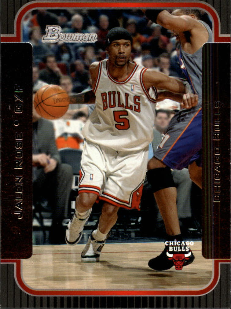 2003-04 Bowman #4 Jalen Rose
