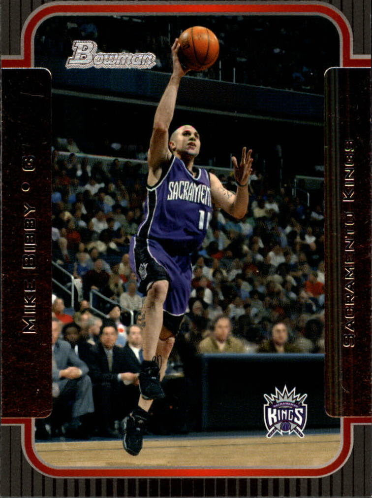 2003-04 Bowman #8 Mike Bibby
