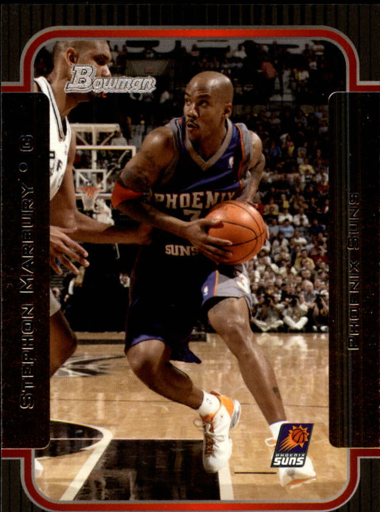 2003-04 Bowman #13 Stephon Marbury