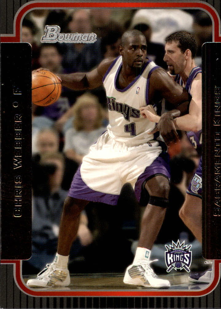 2003-04 Bowman #28 Chris Webber