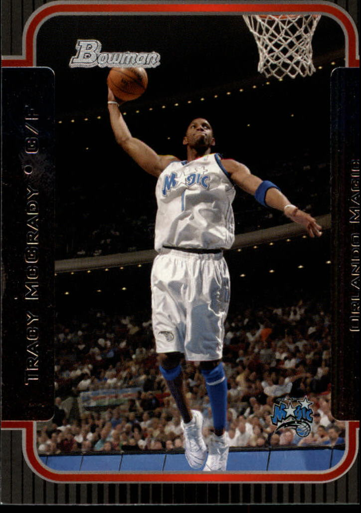 2003-04 Bowman #70 Tracy McGrady front image