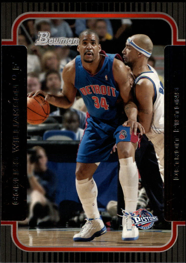 2003-04 Bowman #76 Corliss Williamson