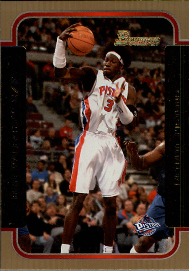 2003-04 Bowman Gold #43 Ben Wallace