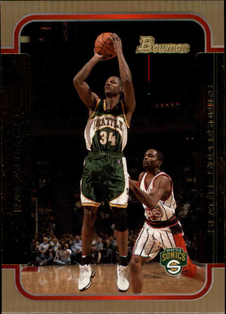 2003-04 Bowman Gold #53 Ray Allen