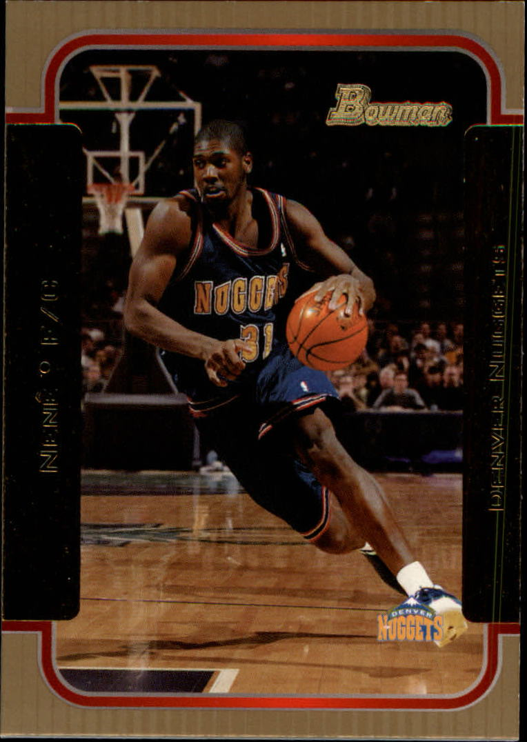 2003-04 Bowman Gold #70 Tracy McGrady