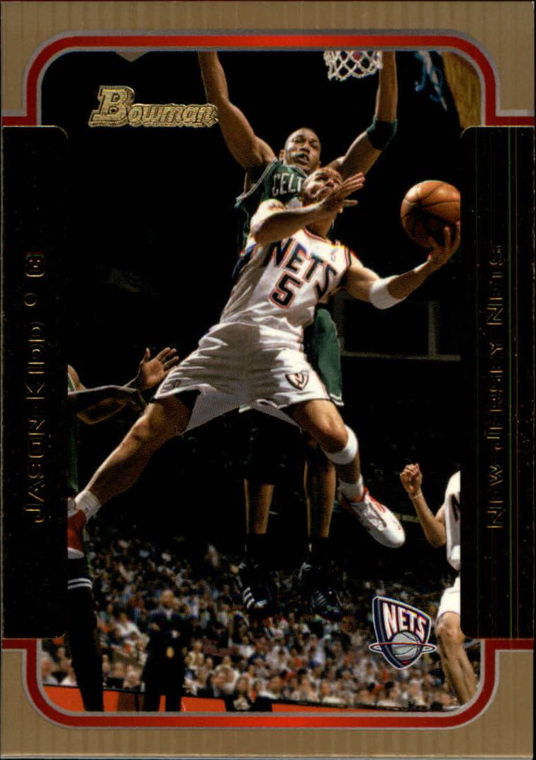 2003-04 Bowman Gold #80 Jason Kidd