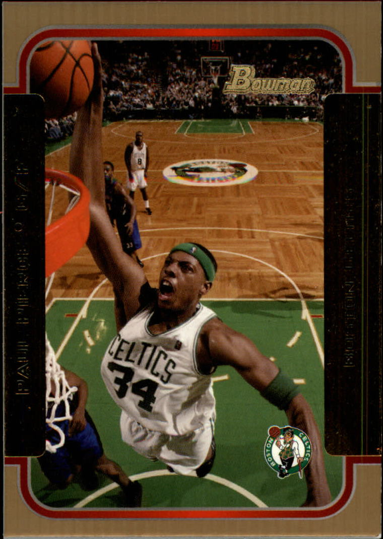 2003-04 Bowman Gold #90 Paul Pierce